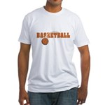 Basketball Nuts Fitted T-Shirt