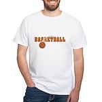 Basketball Nuts White T-Shirt