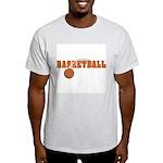 Basketball Nuts Ash Grey T-Shirt