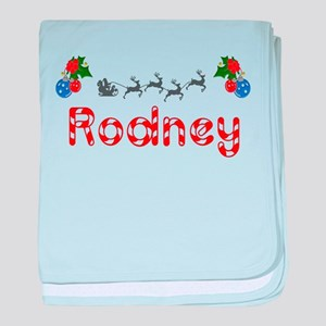 Rodney, Christmas baby blanket