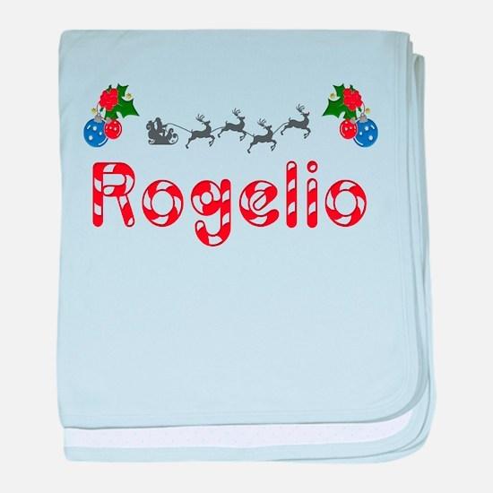 Rogelio, Christmas baby blanket