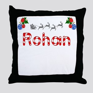 Rohan, Christmas Throw Pillow