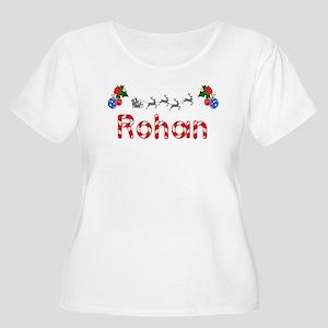 Rohan, Christmas Women's Plus Size Scoop Neck T-Sh