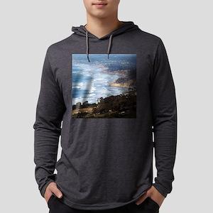 La Jolla and Del Mar Mens Hooded Shirt