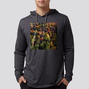 A Slice of Fall Mens Hooded Shirt