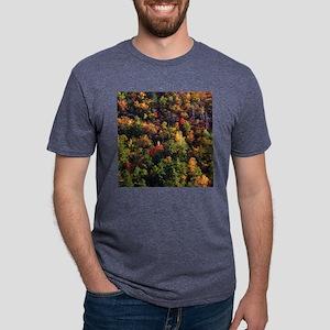 A Slice of Fall Mens Tri-blend T-Shirt