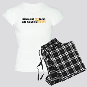 No Socks No Undies Women's Light Pajamas