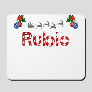 Rubio, Christmas Mousepad