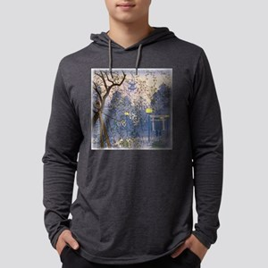 Willow Tree Square Mens Hooded Shirt