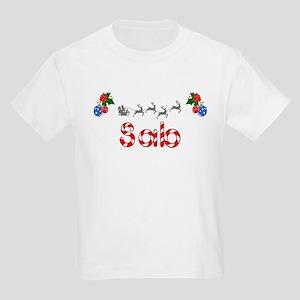 Sab, Christmas Kids Light T-Shirt