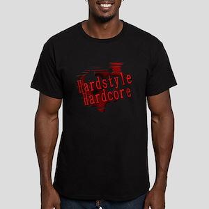 Hardstyle / Hardcore Men's Fitted T-Shirt (dark)
