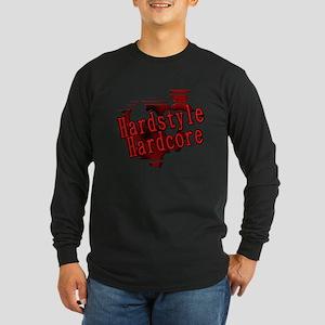 Hardstyle / Hardcore Long Sleeve Dark T-Shirt