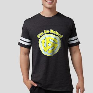 45 RPM Adapter So Retro Mens Football Shirt