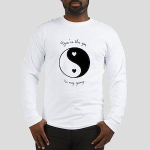 The Yin to my Yang Long Sleeve T-Shirt