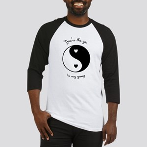 The Yin to my Yang Baseball Jersey