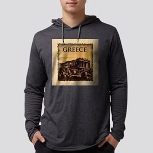 Acropolis Of Athens Mens Hooded Shirt
