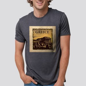 Acropolis Of Athens Mens Tri-blend T-Shirt
