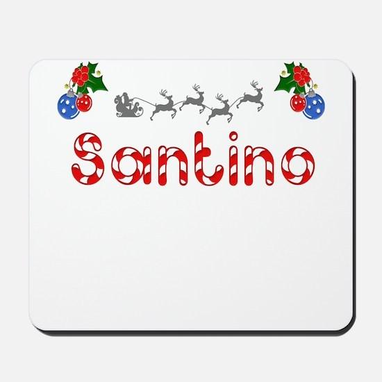 Santino, Christmas Mousepad