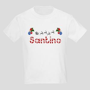 Santino, Christmas Kids Light T-Shirt
