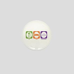 Eat Sleep Neuroscience Mini Button