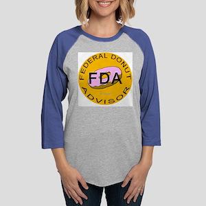 FDA_Circle Womens Baseball Tee