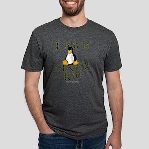 Linux_kid Mens Tri-blend T-Shirt