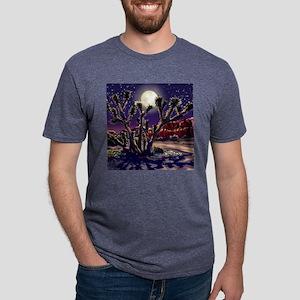 red_rock_tile Mens Tri-blend T-Shirt