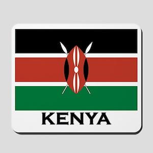 Kenya Flag Merchandise Mousepad