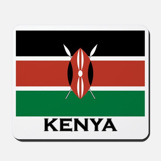 Kenya Flag Merchandise Mousepad