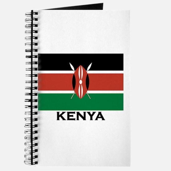 Kenya Flag Merchandise Journal