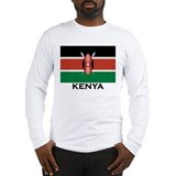 Kenya Long Sleeve T-shirts