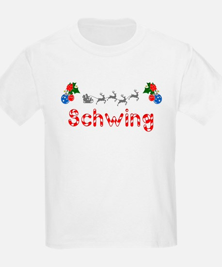 Schwing, Christmas T-Shirt