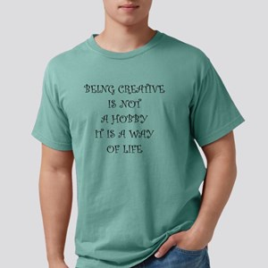 Being Creative Mens Comfort Colors Shirt
