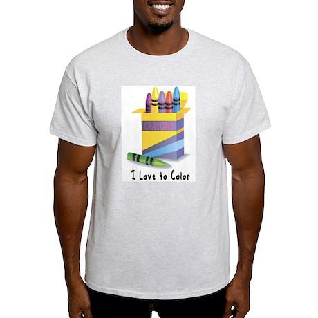 Jwish Kids Love To Color Light T-Shirt