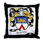 Gehring Coat of Arms Throw Pillow