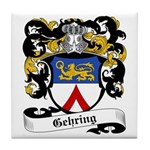 Gehring Coat of Arms Tile Coaster
