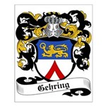 Gehring Coat of Arms Small Poster
