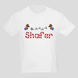 Shafer, Christmas Kids Light T-Shirt