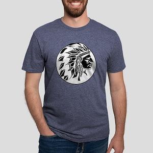 indian man Mens Tri-blend T-Shirt