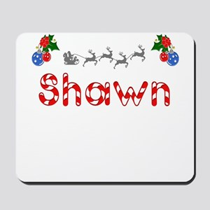 Shawn, Christmas Mousepad