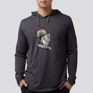 sqLOVE Mens Hooded Shirt
