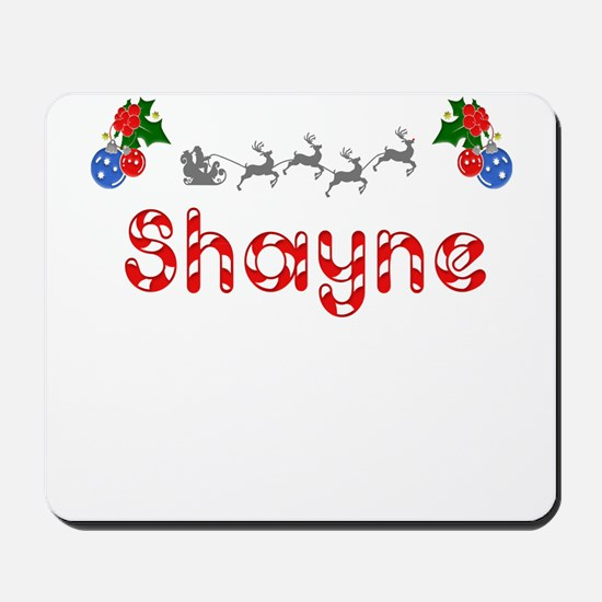 Shayne, Christmas Mousepad