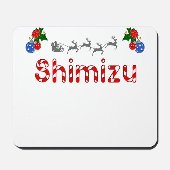 Shimizu, Christmas Mousepad