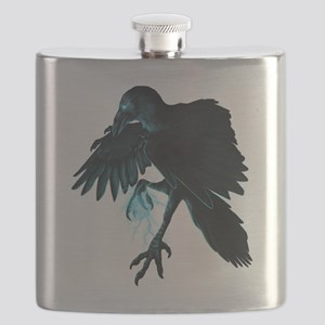Light Raven Transparent Flask