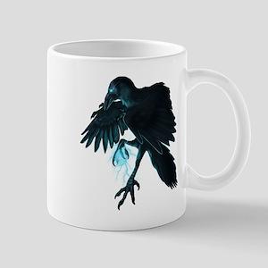 Light Raven Transparent Mug