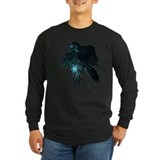 Crow Long Sleeve Dark T-Shirts