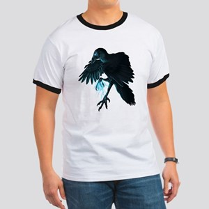 Light Raven Transparent Ringer T