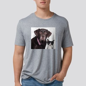 Customize with your own pet Mens Tri-blend T-Shirt