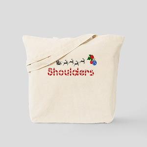 Shoulders, Christmas Tote Bag