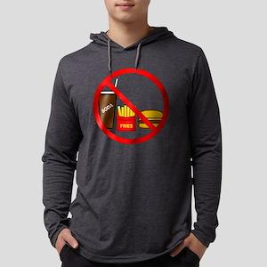nojunkfood Mens Hooded Shirt